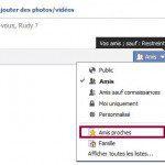 publication restreinte facebook