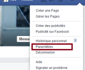 desinscrire de facebook