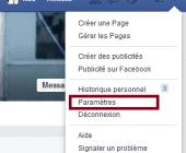 desinscrire de facebook