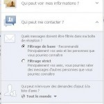 bloquer demande d'amis facebook