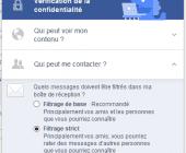 bloquer contact facebook