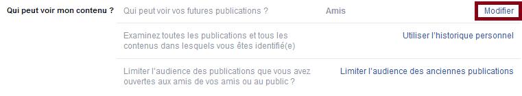 bloquer profil facebook