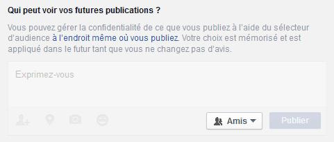 limiter visibilité facebook