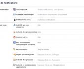 recevoir moins de notifications sur facebook