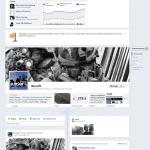 timeline fanpage facebook