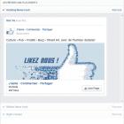 affichage publicité facebook
