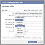 call-to-action sur les publications facebook