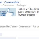 page sponsorisée facebook