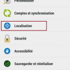 desactiver localisation android