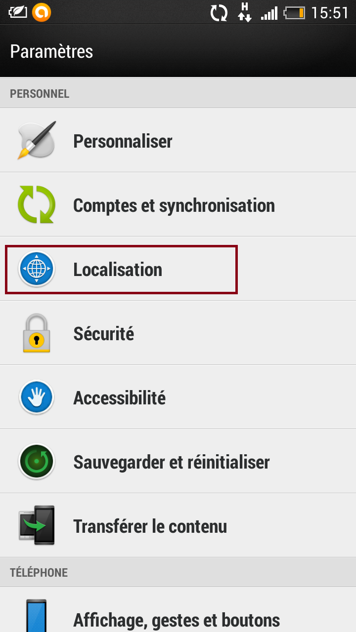 Rencontre geolocalisation android