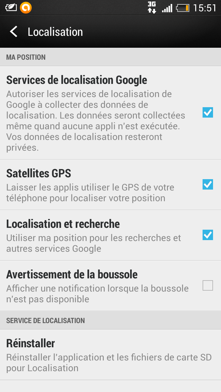 geolocalisation android