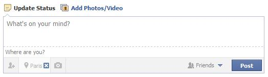 bloquer l'indication de lieu sur facebook