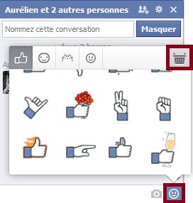 activer les smileys facebook