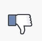 """bouton j""""aime pas facebook"""