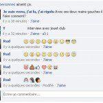 smileys facebook dans les commentaires ou le chat