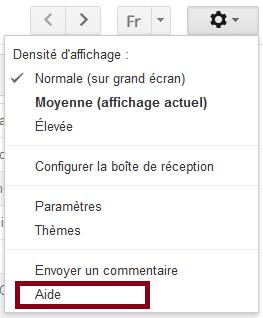 contacter gmail