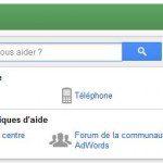 Contacter Google Adwords