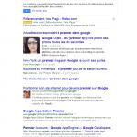 1er sur google