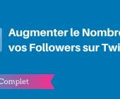 augmenter followers twitter