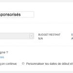 tweets sponsorisés
