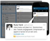 tweets sponsorisés Twitter