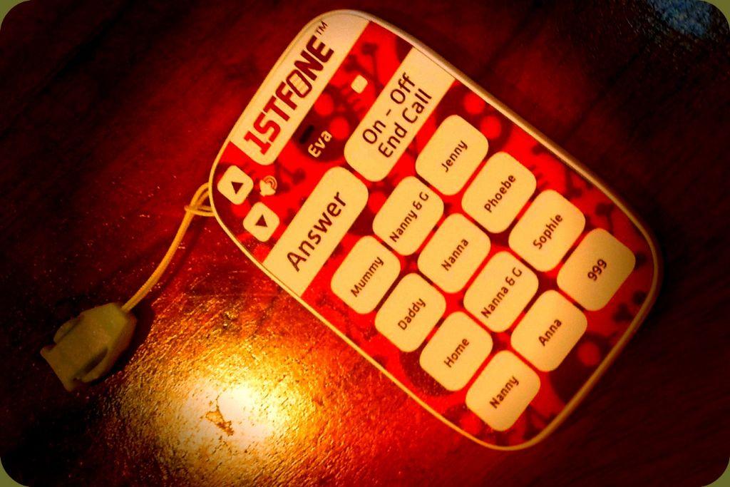 un premier téléphone pour mon enfant