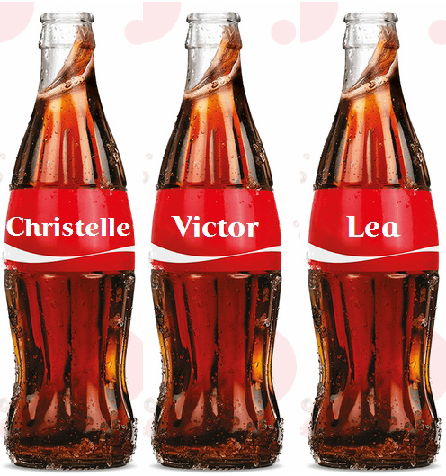 Coca cola prenoms