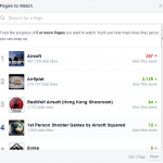 comparer nombre de fans sur facebook