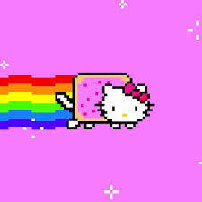 nyan cat hello kittie