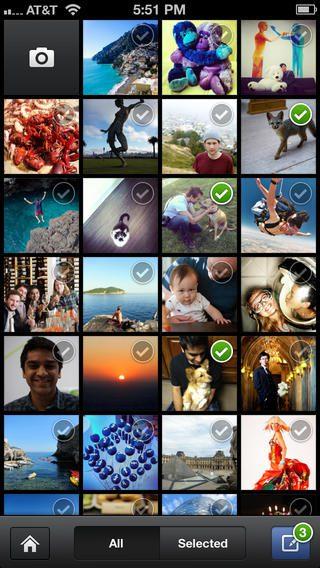 application facebook camera