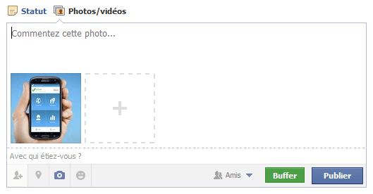 interface facebook