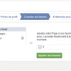parametrer page facebook