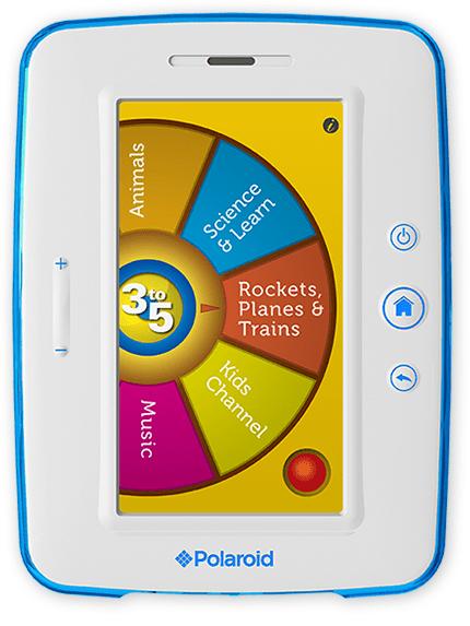 polaroid tablette enfant