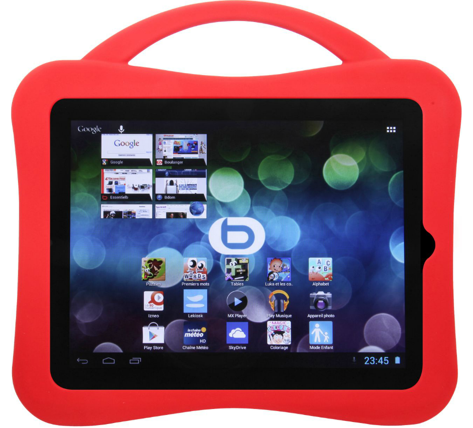 Tablette multimédia android ESSENTIELB Family'TAB