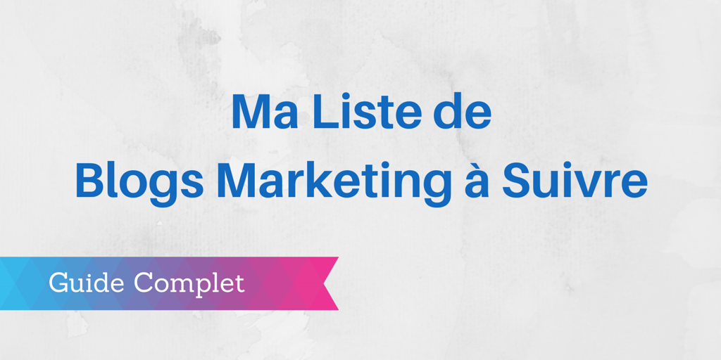 blogs marketing