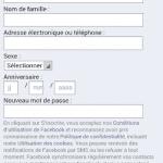 créer un compte facebook sur un téléphone portable
