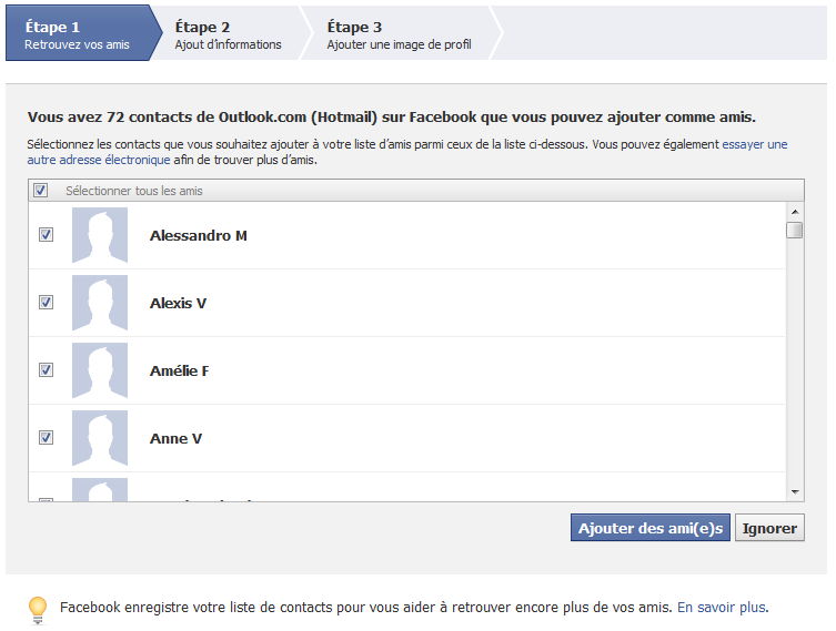 créer un facebook