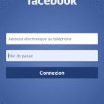inscription facebook mobile