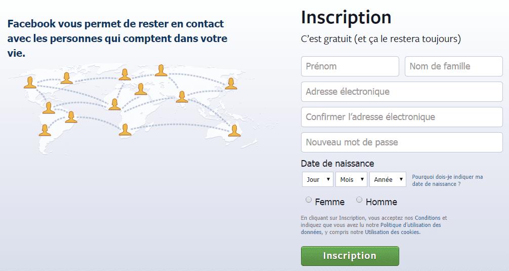 facebook inscription gratuite facile Annecy