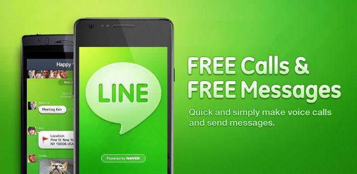 line appels gratuits