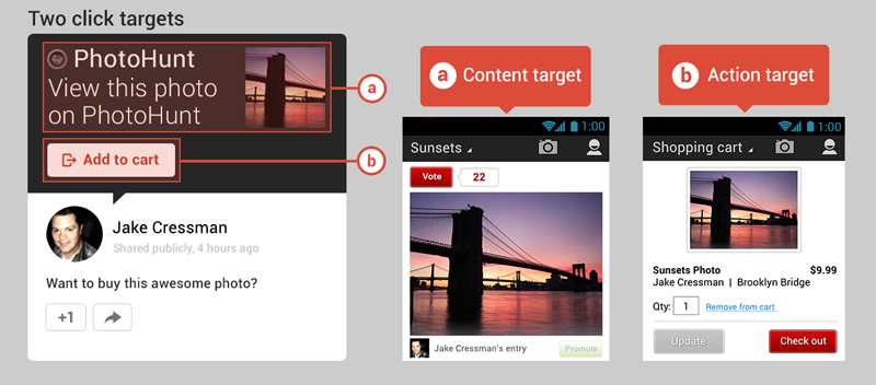 posts interactifs google plus