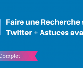 recherche twitter