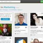 recherche twitter marketing