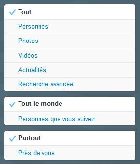 rechercher sur twitter
