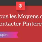 Comment Contacter Pinterest ?