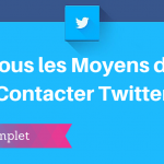 Comment contacter Twitter ?