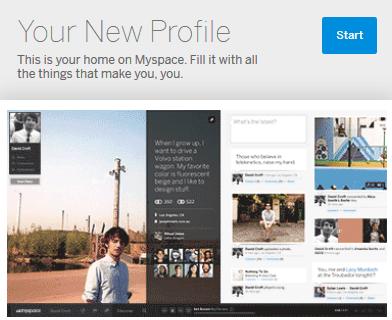 nouveau myspace