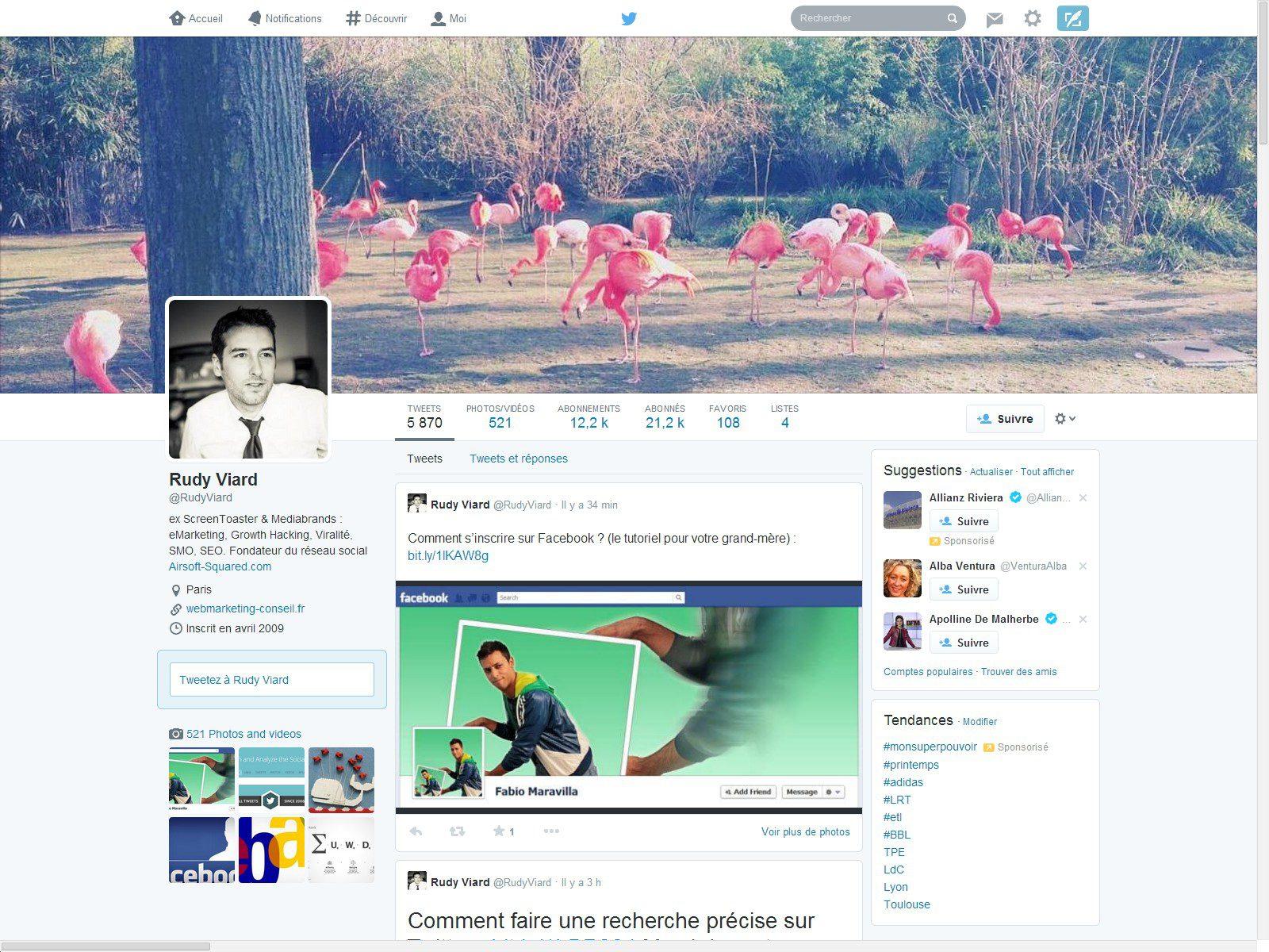 nouveau twitter