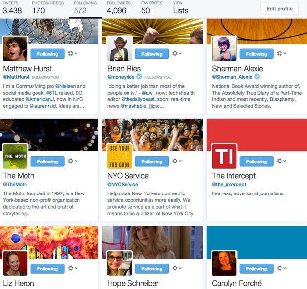 nouvelle page followers