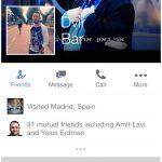 Un Nouveau Design pour Facebook Mobile